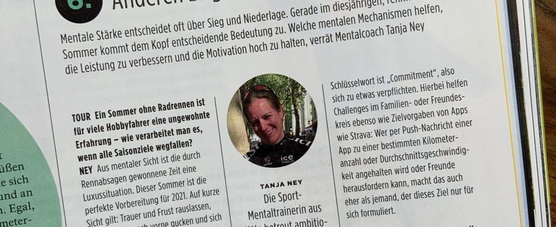 Tanja ney Mental Coach Sport Mentoring Köln Cycling Tour Magazin